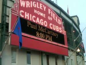 McCartneyat Wrigley