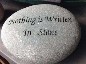 nothing-is-written-in-stone-527756_1920