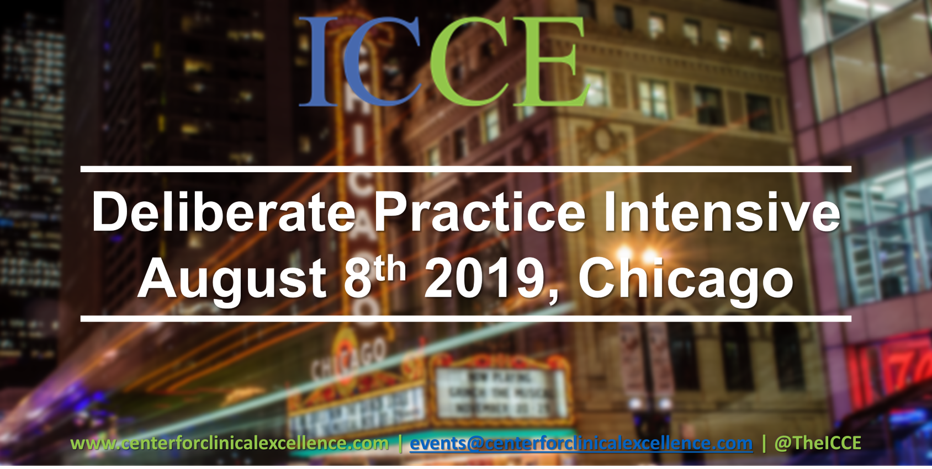 FIT Deliberate Practice Aug 2019 - ICCE