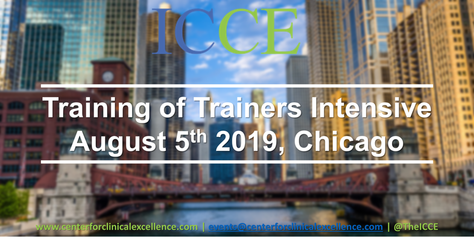 FIT Training of Trainers Aug 2019 - ICCE
