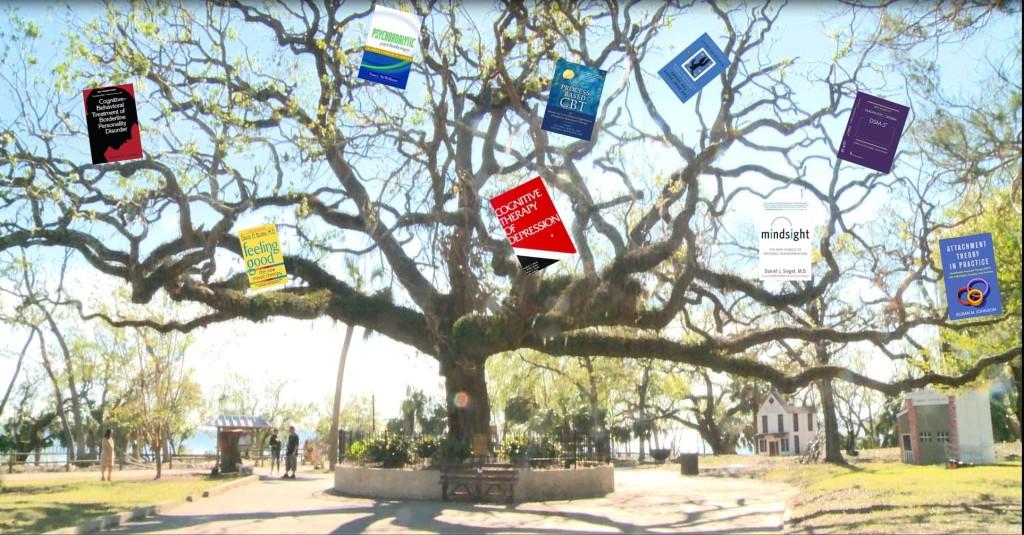 Books in tree