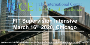 ICCE Fit Supervision Intensive 2020 Scott D Miller