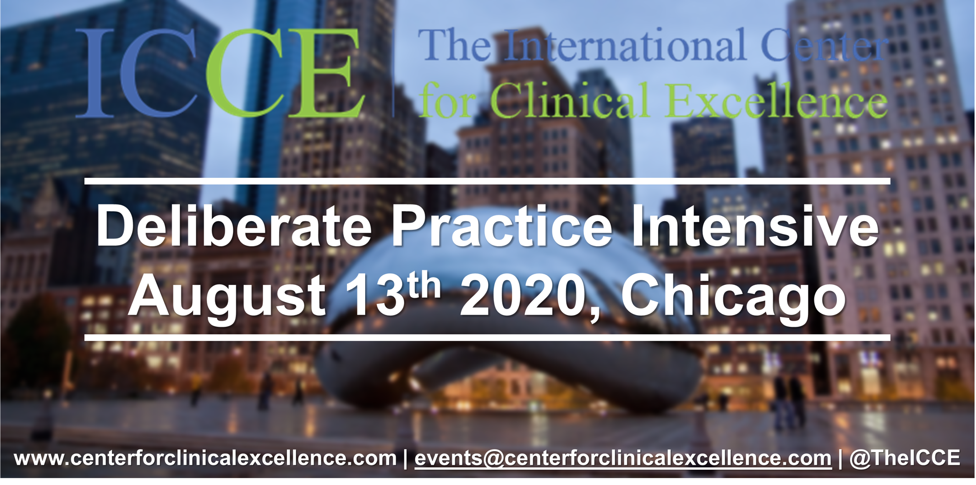 ICCE FIT Deliberate Practice Intensive 2020